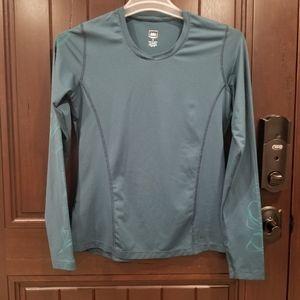 REI Long Sleeve Pullover Shirt Running Thumbhole M